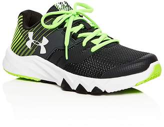 Under Armour Boys' Primed 2 Lace Up Sneakers - Big Kid