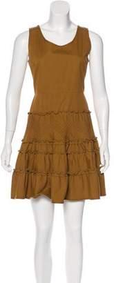Valentino Sleeveless Scoop Neck Dress