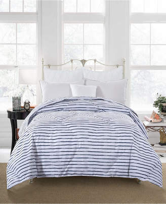 St. James Home Soft Cover Nano Feather Comforter Full/Queen stripe Bedding