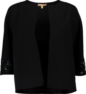 Michael Kors Embroidered Sleeve Cookie Jacket