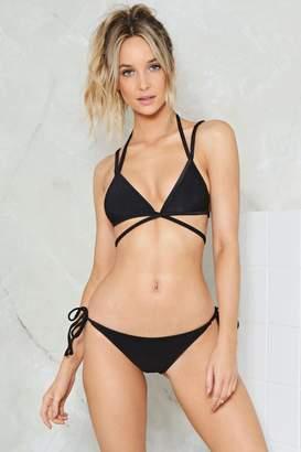 Nasty Gal Alina Mix & Match Strappy Bikini Top
