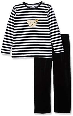 Steiff Girl's 0006575 2Pcs Playsuit Clothing Set,(Manufacturer Size:128)