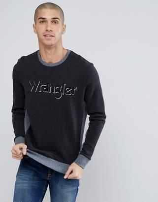 Wrangler 2 Tone Sweatshirt