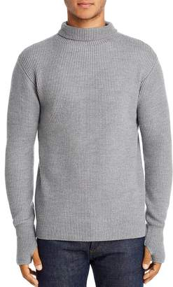 Barena Cimador Ribbed Wool Turtleneck Sweater