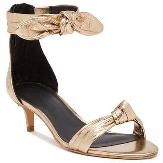 Rebecca Minkoff Kaley Metallic Leather Sandal