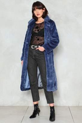 Nasty Gal Fur-Tune Teller Faux Fur Coat