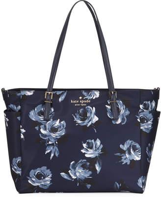 Kate Spade watson lane betheny rose-print baby bag