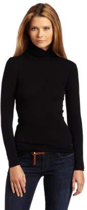 Splendid Women's 1x1 Long-Sleeve Turtleneck Sweater