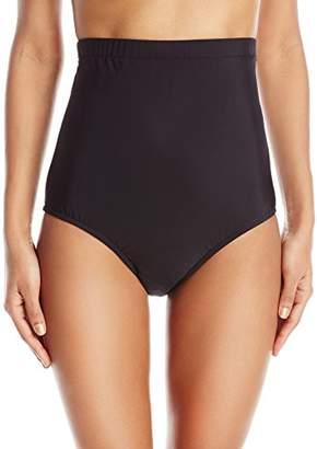 Penbrooke Women's Tummy Control Ultra High Waist Brief Bikini Bottom