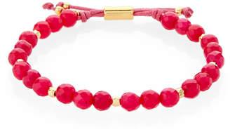Gorjana Pink Jade Power Beaded Bracelet