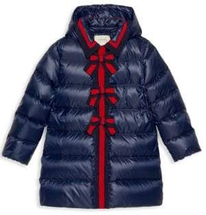 Gucci Little Girl's& Girl's Quilted Puffer Coat