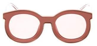 Karen Walker Gradient Oversize Sunglasses