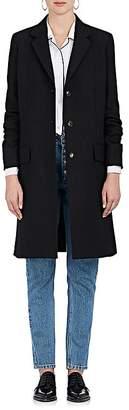 The Row Women's Amutto Wool Gabardine Three-Button Coat