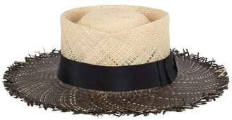 Riviera Gladys Tamez Millinery Straw Hat