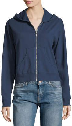 Allen Allen Zip-Up Hoodie Sweatshirt $55 thestylecure.com