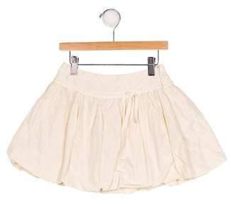 Miss Blumarine Girls' Embellished Mini Skirt
