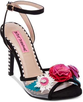Betsey Johnson Jamie Dress Sandals Women's Shoes