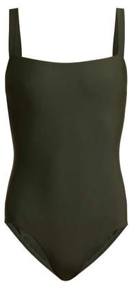 Matteau - The Square Swimsuit - Womens - Dark Green