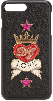 Dolce & Gabbana Love Leather Iphone 8 Plus Cover