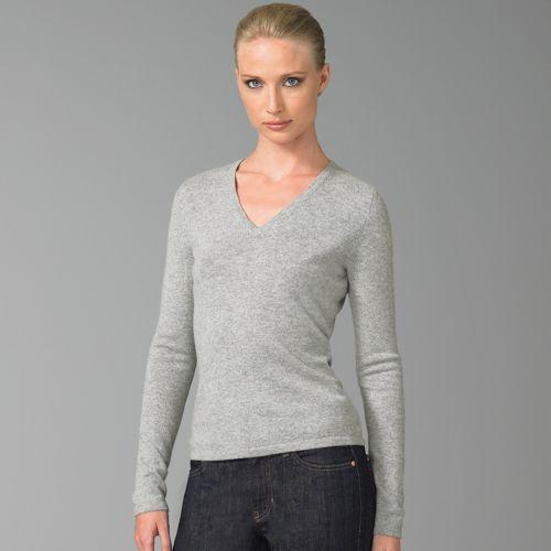 Saks Fifth Avenue Classic Cashmere V-Neck Sweater