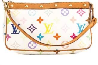 Louis Vuitton White Multicolore Monogram Canvas Pochette Accessoires Bag (Pre Owned)