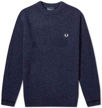Fred Perry Authentic Tipped Crew Jumper