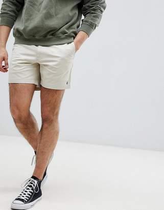 Polo Ralph Lauren Prepster Drawstring Chino Shorts In Beige