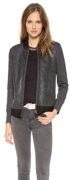 Leon Francis Muckarun Leather Jacket