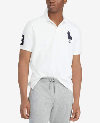 Polo Ralph Lauren Men Big & Tall Classic Fit Big Pony Mesh Cotton Polo