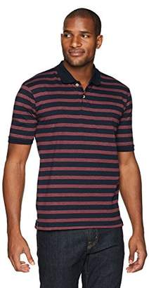 Flying Ace Men's Classic Jersey Polo Shirt with Logo Label