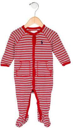 Ralph Lauren Boys' Striped All-In-One