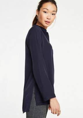 Ann Taylor Stitched V-Neck Tunic