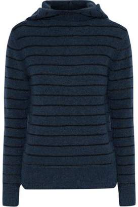 By Malene Birger Striped Knitted Hooded Sweater