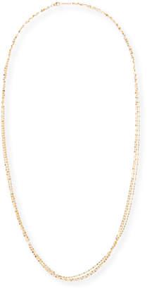Lana Blake Three-Strand Chain Necklace in 14K Gold, 30