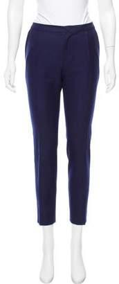 Bouchra Jarrar Mid-Rise Straight Leg Pants