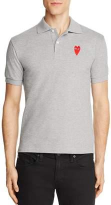 Comme des Garcons Long-Heart Slim Fit Polo Shirt