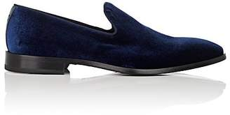 Barneys New York Men's Velvet Venetian Loafers
