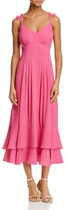 nanette Nanette Lepore Tiered Midi Dress $179 thestylecure.com
