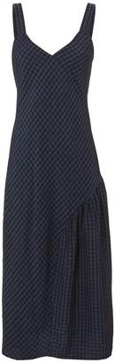 Tibi Gingham Slip Dress