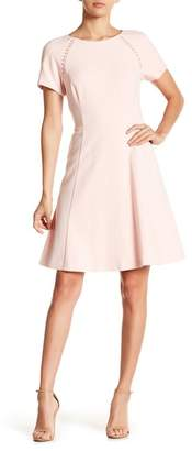 Eliza J Raglan Short Sleeve Dress