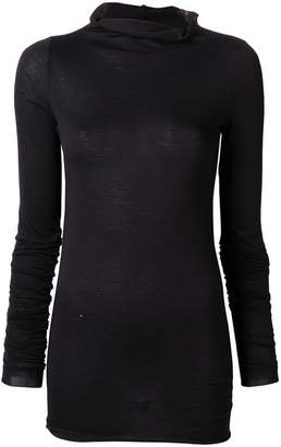 Rick Owens Lilies fitted sweater