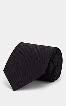 Alexander McQueen Men's Insect-Motif Silk Necktie - Black