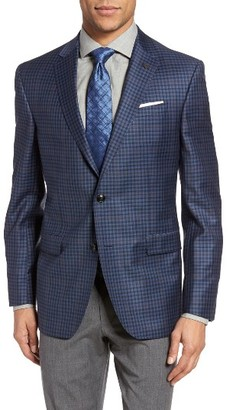 Men's Ted Baker London Jay Trim Fit Check Wool Sport Coat $695 thestylecure.com
