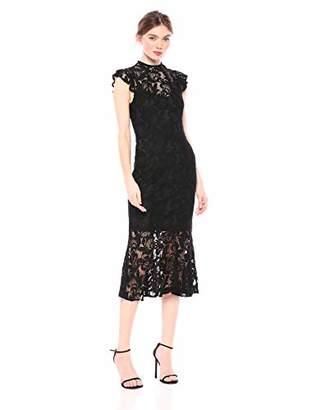 Rachel Roy Women's Annalee Lace Midi Dress