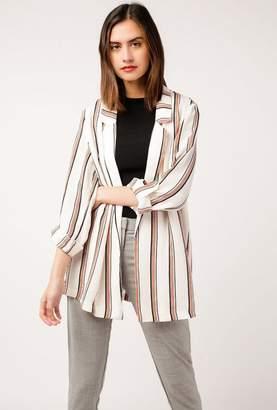 Azalea Striped Loose Blazer