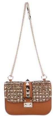 Valentino Embellished Glam Lock Bag
