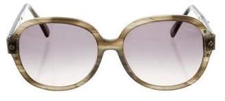 Lanvin Marbled Oversize Sunglasses