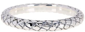 SIMON SEBBAG Sterling Silver Croco Embossed Bangle Bracelet $148 thestylecure.com