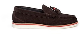 Paul Smith Paul Smith 'Carver' tassel suede loafers