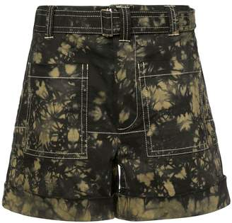 Proenza Schouler PSWL Bleach Dye Utility Shorts